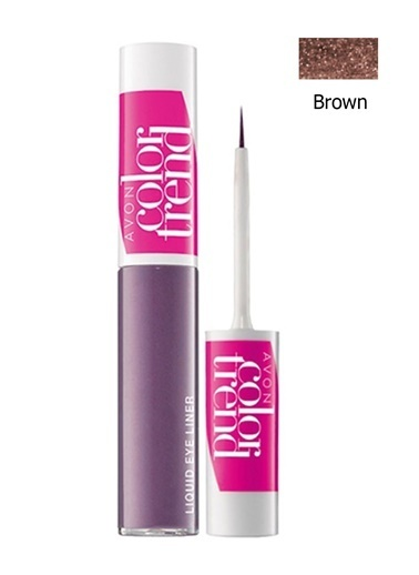 Avon Color Trend Likit Eyeliner Brown Kahve